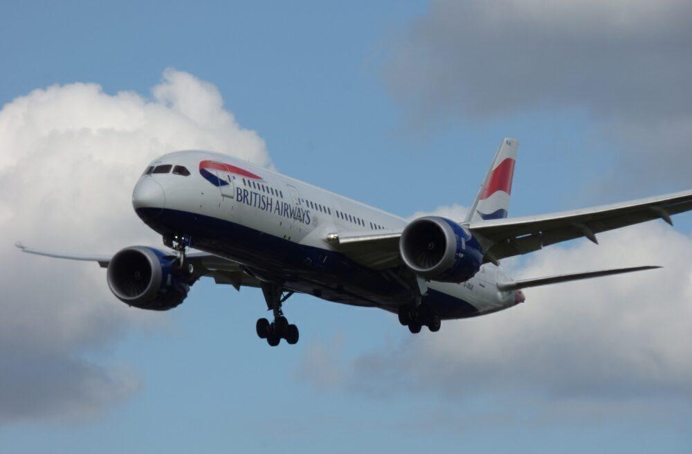 British Airways Boeing 787 Londen Heathrow