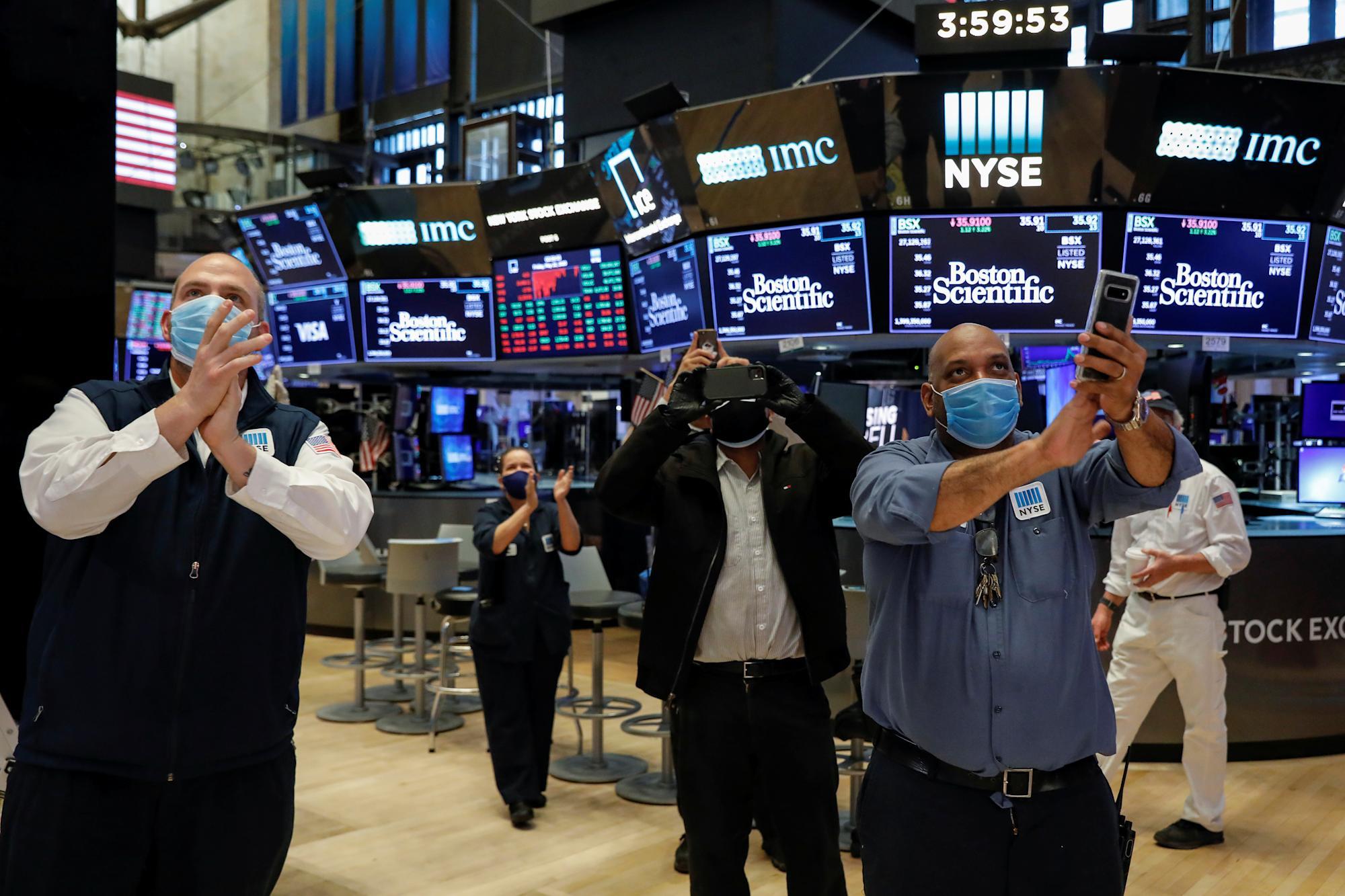 Aandelen winnen nu Wall Street de zorgen over inflatie probeert te overwinnen