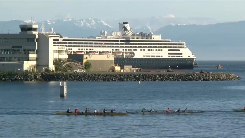 De Verenigde Staten nemen de rekening voor het cruiseschip om de havens van British Columbia te omzeilen