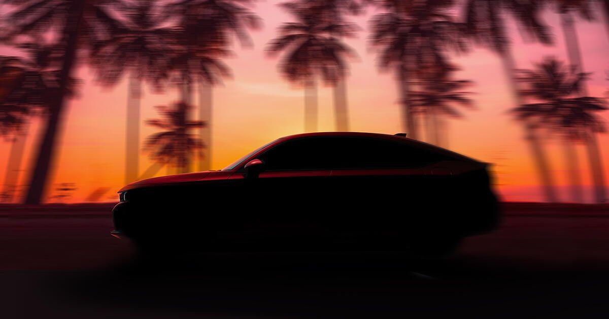 De 2022 Honda Civic Hatchback verschijnt op 23 juni
