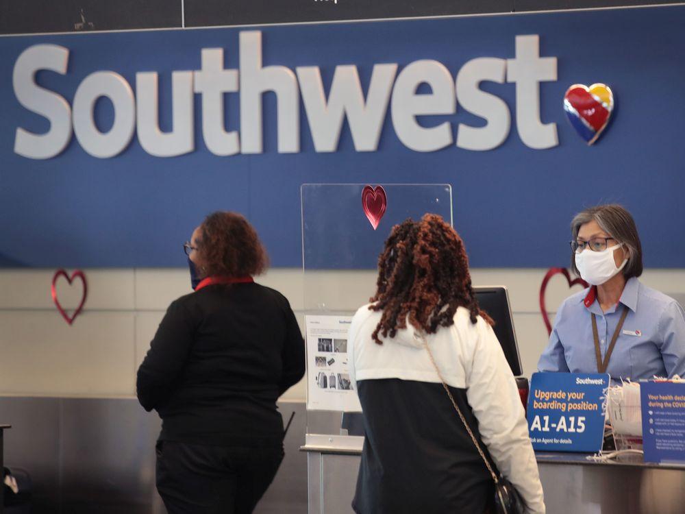 Southwest Airlines arriveert op Bellingham International Airport