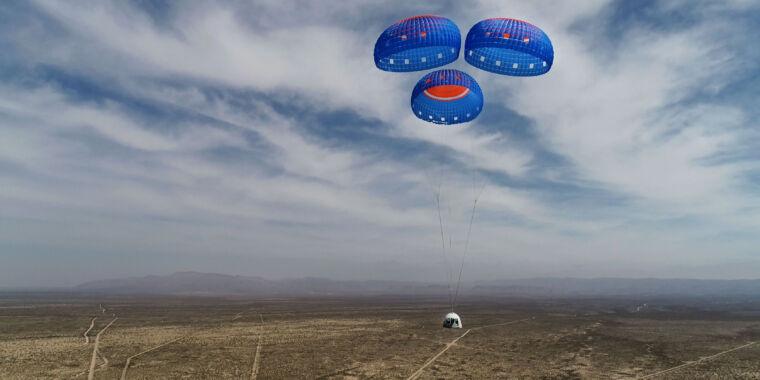 Ruimtevliegticket met Jeff Bezos op een veiling verkocht voor $ 28 miljoenمزاد