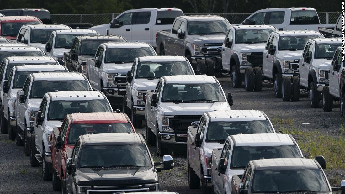 Ford meldt onverwachte winst ondanks chiptekort
