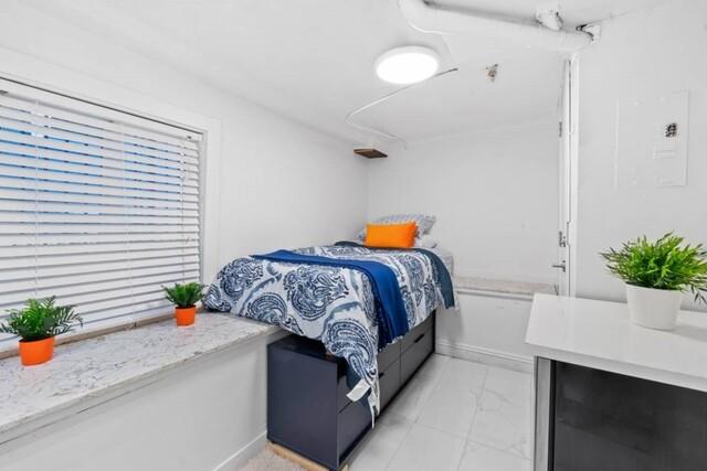 Deze badkamer met bedden staat vermeld als een 'kleine studio' voor $ 680 per maand in Vancouver – BC News