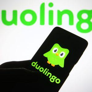 Duolingo-app voor het leren van talen maakte 35% publieksdebuut op NASDAQ
