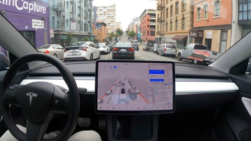 """Tesla FSD Beta 9 krijgt vrijdag een update met """"veel verbeteringen"""""""