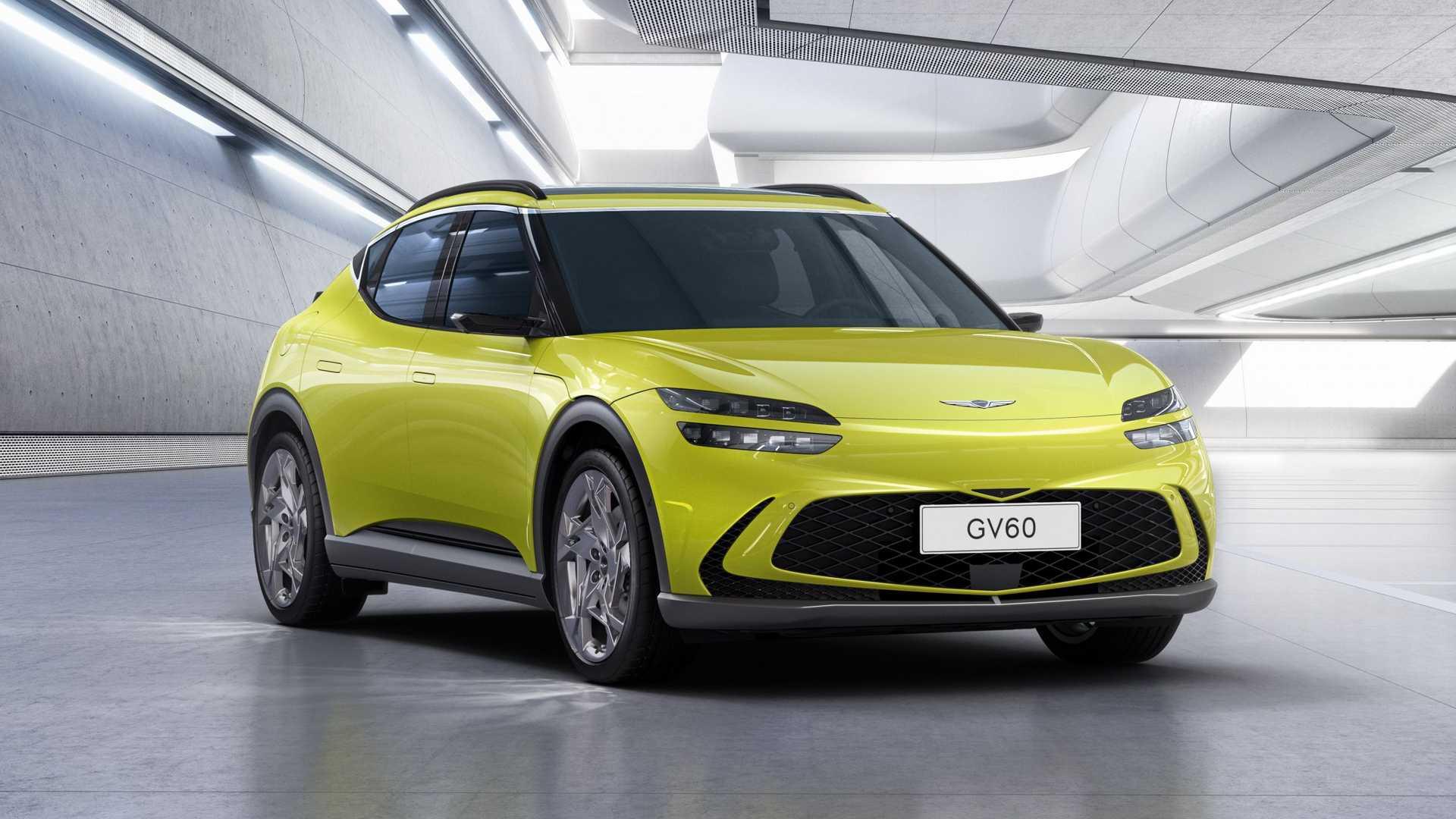 Genesis onthult de volledig elektrische GV60-crossover