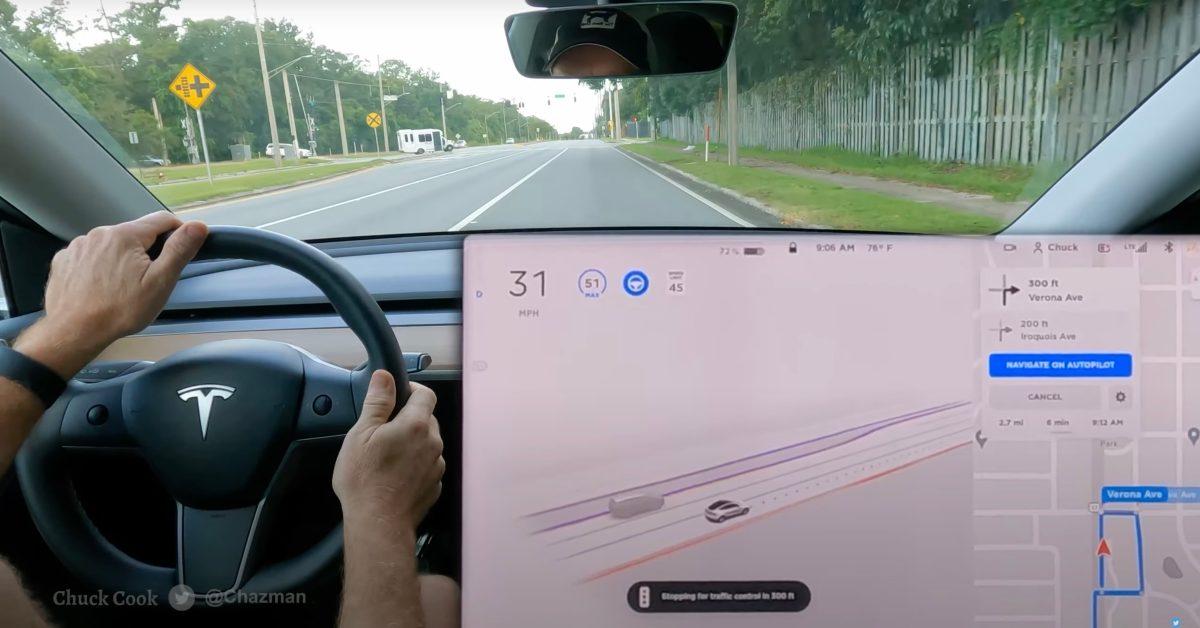 Tesla pusht nieuwe bèta-update voor volledig autonoom rijden, houd je adem niet in voor de downloadknop