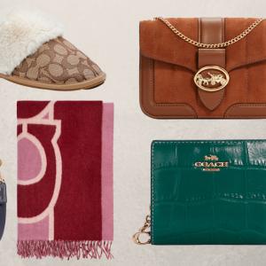 Coach Outlet dropt een cadeauwinkel voor de feestdagen – en alles is te koop